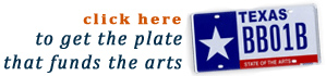 plate that funds the arts